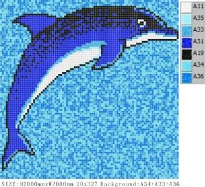Delfin V A33+A34+A3 1, 2x2m